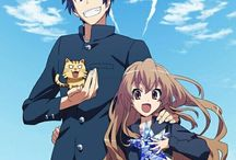 Toradora / This is probably my favourite romance anime... AND BEFORE YOU GET TRIGGERED I SAID PROBABLY