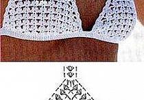 costume de baie crosetate