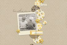 Scrapbooking / Inspiration and layout for scrapbooking