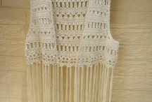 Crocheted waistcoat
