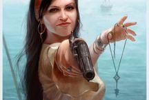 Seafaring Women / Women in Piracy - Factual and Fictional
