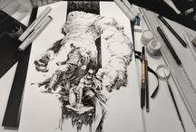 octopus' ink