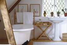 bath + shower rooms / inspiring pictures for my dream bath + shower room / by Anna Hart / South Molton St Style