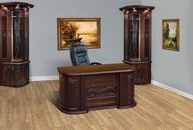Tömörfa íróasztal / https://pfifferbutorszalon.hu/termekek/iroasztal