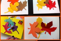 Autumn leaves writing