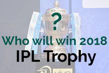 IPL 2018 Champion ship Trophy
