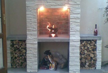 Fire place finishes