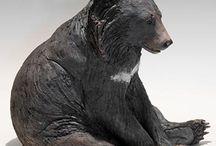 keramik bjørn