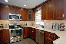 Kitchen- White Granite
