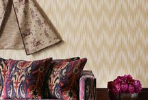 Zoffany- Jaipur / The Jaipur set of collection plays and updates a strong tradition of using Indian and Persian designs in the decoration of English Country House Interiors.