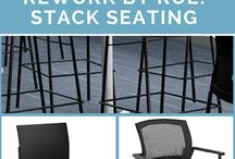 Stack Seating / Stack office seating with both style and comfort.
