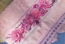 toalhas pintadas