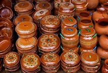 Mexican porcelain and pottery
