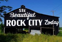 """""""See Rock City"""" Barns / Out iconic """"See Rock City"""" barns are all over the country! / by See Rock City"""