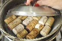 Wine corks / Craftworks made by wine corks
