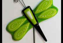 Creatures (Fused Glass) / Birds, Animals and Insects made from fused glass
