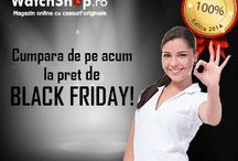 Black Friday Special / Informatii legate de promotia de Black Friday de la WatchShop.ro