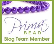 Prima Bead Blog Partner! / I am one of the Prima Bead Bloggers and each month we are sent a 'product of the month' and asked to make something and blog about it. This board shows my efforts so far ...