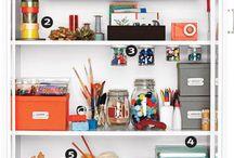 get organized / by wildgingersnap
