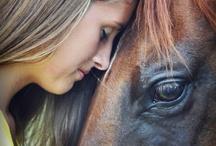 horsy posing