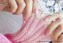 Why We Knit & Crochet / There are so many benefits to knitting and crochet and other fiber crafts. Learn why we love to knit and crochet.