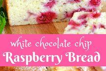 Raspberry bread/poundcake