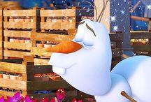 Olaf / Olaf a loving cute snowman