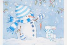 Снеговики ⛄⛄⛄
