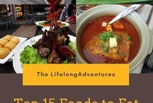 Travel Blogs - Food & Drink