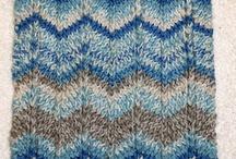 Sky knitting