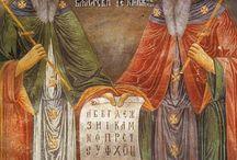 Eastern Spirituality led by St. Basil / Byzantine Catholic, icons and iconography.