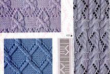 vzory na pletení