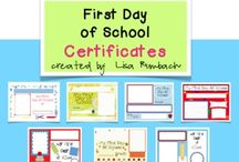 School-First Days / by Gina Shull