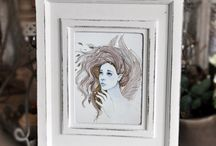 My joyful creativity / My joyful creativity :) Paintings, drawings and jewelry.