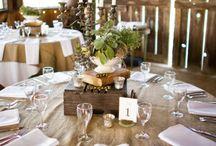mariage champêtre marron beige et blanc