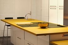 Bold Colors in the Kitchen Ideas