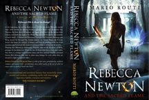 Rebecca Newton & the Sacred Flame / Mythical Epic Fantasy Novel for Young Adults