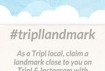 Tripl's Landmarks / Tripl launched an Instagram campaign, letting all its users claim a landmark on Tripl close to home. Use hashtag #tripllandmark and share your Instagram with us. Oh, and we would love to see you on the picture as well :-)! / by Tripl's Concierge