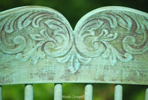 Projets peinture craie-argile, projects Chalk-Clay Paint