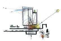 Edil: Schizzi / Schizzi di architetti, disegni a mano