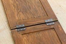 Cabinet door uses