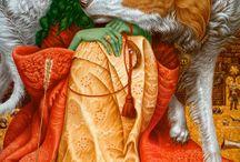 Colorful painting by Vladislav Erko