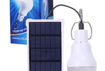 solar powered protable light bulb