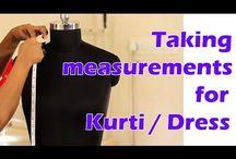 Indian Kurti/ Dress making tutorials