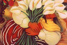 2015 IDEAS. (3rd) Flowers - El Dia de los Muertos