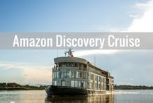 Amazon Discovery Cruise / The Discovery Amazon Cruise is one of the newest and most elegant ways to explore this incredible rainforest.