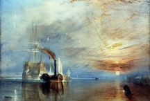 J.M.W Turner / A board showing some of the works of my favourite artist Turner.