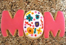 """Mother's Day / I use these albums as a place to keep cookies that inspire me. Most pics in this album are NOT my cookies. Those that are, are labeled as Edible Canvas Creations. Most of these are cookies that I might like to try one day. If you see something you like, I can try to create it. The album, """"Edible Canvas Creations"""" are just (some of) my cookies. Find all my cookie pics at www.facebook.com/ediblecanvascreations/."""