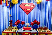 Superman Party Ideas / Great Ideas for Superman Birthday Parties