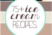 Ice cream recipes / All anout ice cream..